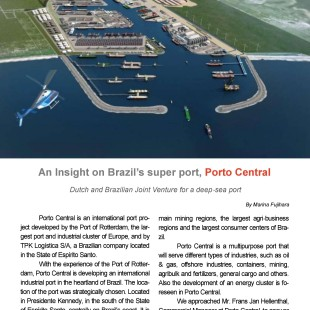 An insight on Brazil's super port